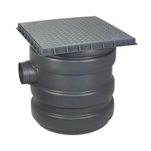 Caixa de Gordura com Cesto 23L 0,41x0,41 Polipropileno Odem