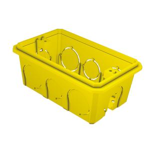 Caixa de Luz 4x2 Amarela Romazi