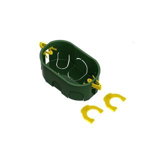Caixa de Luz 4x2 para Drywall Dryfix Verde Tigre