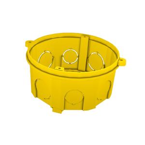 Caixa de Luz 4x4 Octagonal Amarela Romazi