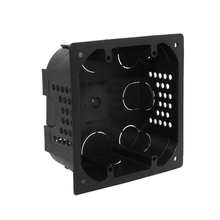 Caixa de Luz 4x4 Quadrada Preto Nanoplastic