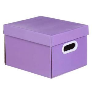 Caixa Organizadora Papelão Roxo 18x23cm Mini Boxgraphia