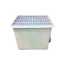 Caixa de Passagem com Grelha Fibra de Vidro 360x450mm Fiberblu