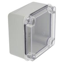 Caixa de Passagem de Sobrepor Transparente Steck