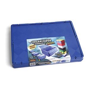 Caixa Dobrável Plástico 37 L 24x35x48 cm