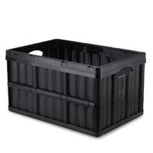 Caixa Dobrável Plástico Preto 62x40x30cm Arthi