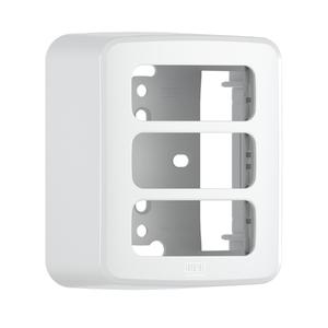 Caixa e Placa sem Suporte 3 Módulos Composé Branco WEG