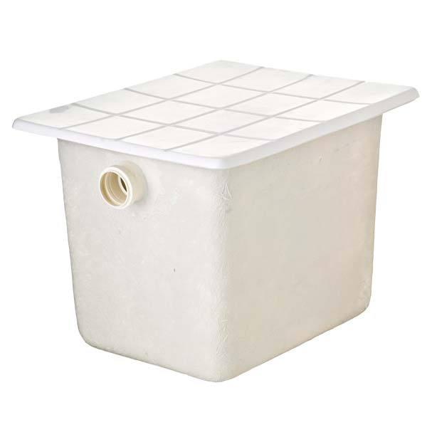 Caixa de gordura fibra de vidro com tampa parafusada for Fibra ceramica leroy merlin