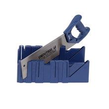 Caixa Meia Esquadria Plástico com Serrote 310mm Dexter