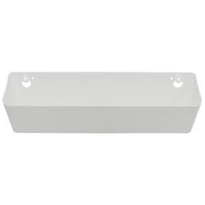 Caixa Multiuso Plástico Branco 11x42x12cm Spaceo