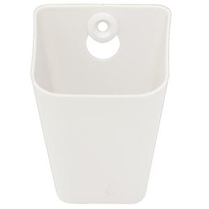 Caixa Multiuso Plástico Branco 8x11x9cm Spaceo