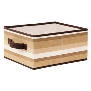 Caixa Organizadora em Tecido 24x30x15cm Ratan