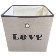 Caixa Organização Dobrável Love 31x31x31cm Importado