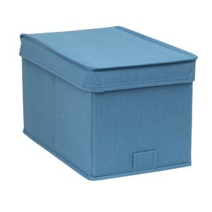 Caixa Organizador TNT Azul 17,5x17,5x28,5cm Spaceo