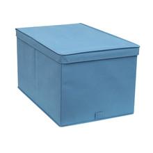 Caixa Organizador TNT Azul 32,5x34,5x43,5cm Spaceo