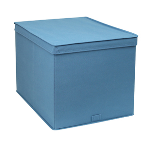 Caixa Organizador TNT Azul 32,5x54,5x43,5cm Spaceo