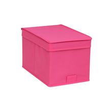 Caixa Organizador TNT Rosa 32,5x34,5x43,5cm Spaceo