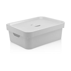 Caixa Organizadora Branca 13x36,5x27,5 em Plástico