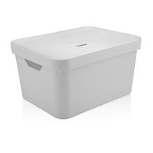 Caixa Organizadora Branca 24,5x46,0x36 em Plástico