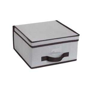 Caixa Organizadora Cinza 15x30x32cm Spaceo