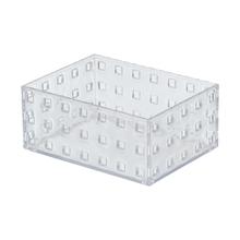 Caixa Organizadora Cristal 140x105x6 em Plástico Arthi