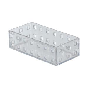 Caixa Organizadora Cristal 140x70x4 em Plástico Arthi