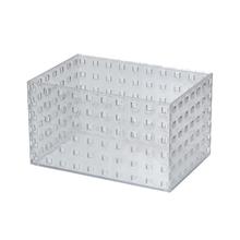 Caixa Organizadora Cristal 210x140x120 em Plástico Arthi