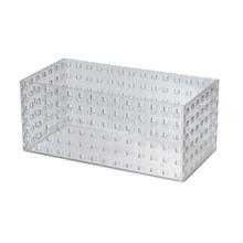 Caixa Organizadora Cristal 280x140x120 em Plástico Arthi