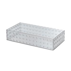 Caixa Organizadora Cristal 280x140x60 em Plástico Arthi