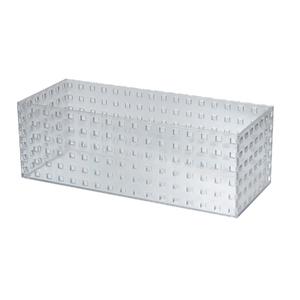 Caixa Organizadora Cristal 350x140x120 em Plástico Arthi