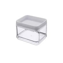 Caixa Organizadora em Plástico Incolor 5x7x11cm 100ML Coza
