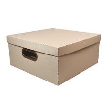 Caixa Organizadora Grande Rosa 35x35x16cm Comfort Dello