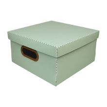 Caixa Organizadora Média Verde 30x30x15cm Comfort Dello