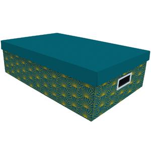 Caixa Organizadora NewArt Azul 16x31x50cm Boxgraphia