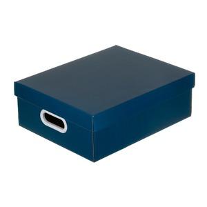 Caixa Organizadora Papelão Azul 13x30x38cm Stok Boxgraphia