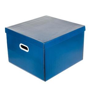 Caixa Organizadora Papelão Azul 30x42x44cm Storage Boxgraphia
