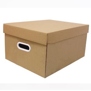 Caixa Organizadora Papelão Kraft Retangular 22x32x46cm Stok Boxgraphia