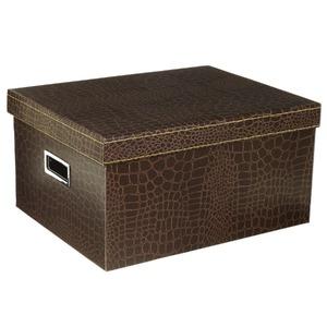 Caixa Organizadora Papelão Marrom 20x30,50x39cm Office Prime Boxgraphia