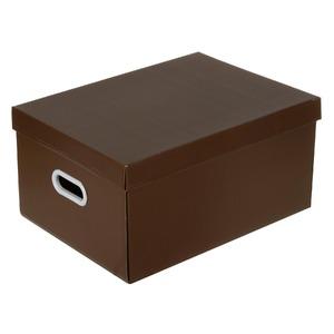 Caixa Organizadora Papelão Marrom 22x32x44cm Office Boxgraphia