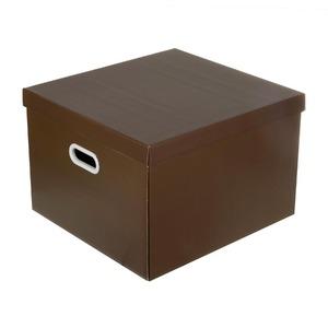 Caixa Organizadora Papelão Marrom 44x42x30cm Storage Boxgraphia