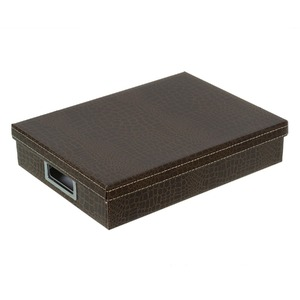 Caixa Organizadora Papelão Marrom 7x34x25cm Office Prime Boxgraphia
