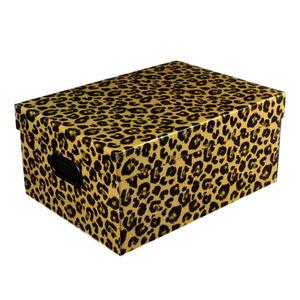 Caixa Organizadora Papelão Marrom  42x30,5x20 cm Jaguar Boxgraphia
