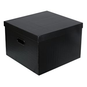 Caixa Organizadora Papelão Preto 30x42x44cm Storage Boxgraphia