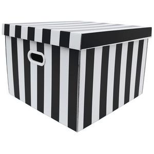 Caixa Organizadora Papelão Preto com Alça 44x42x30 cm Storage  Boxgraphia