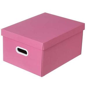 Caixa Organizadora Papelão Rosa  22x32x44 cm Office Boxgraphia