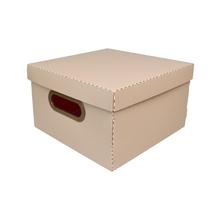 Caixa Organizadora Pequena Rosa 25x25x15cm Comfort Dello
