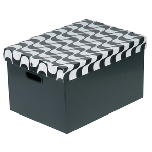 Caixa Organizadora Plástico 21,9L 23x26x37cm Alveolar Polycart