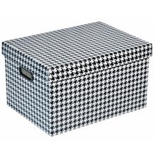 Caixa Organizadora Plástico 21,9L 23x26x38cm Fashion Polycart