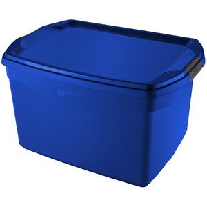 Caixa Organizadora Plástico Azul 29 Flex Sanremo