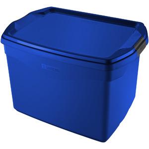 Caixa Organizadora Plástico Azul 36 Flex Sanremo